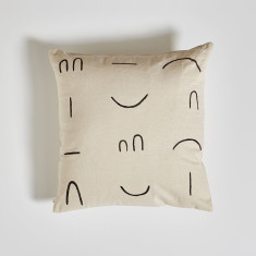Printed Line Cushion