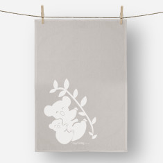 Koala Linen Tea Towel