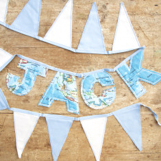 Personalised Letter Bunting