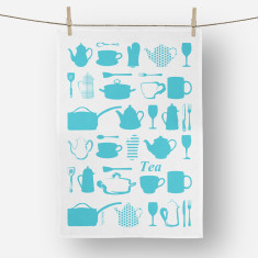 Kitchen Utensils Tea towel