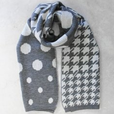 Verona Scarf in Grey