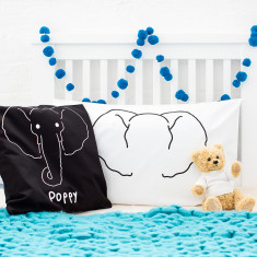Animal Personalised Cushion Cover Set