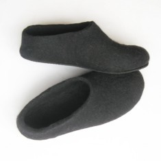 Women's Handmade Wool shoes Minimalist