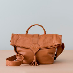 Trooper Leather Satchel - various colours
