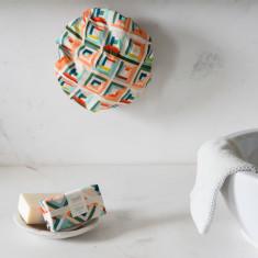 Shower cap & scented goats milk soap set (various styles)