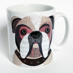 English Bulldog personalised mug