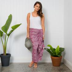 Rio handprinted sarong