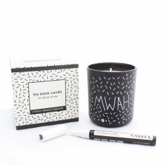 The Blank Customisable Candle in Coconut Lime