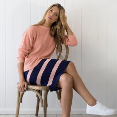 Merino band skirt
