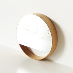 Wa's Objects Round Mirror