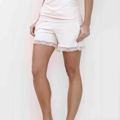Organic short in pink blush