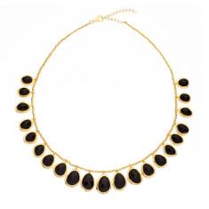 Pebble multi pendant necklace