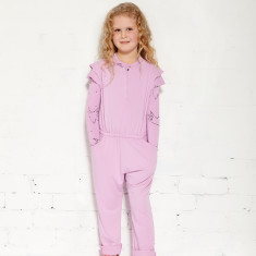 Mr Wolf jumpsuit in orchid