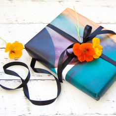 Fleur wrapping paper pack (5 sheets)