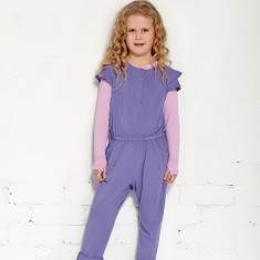 Mr Wolf jumpsuit in light grape