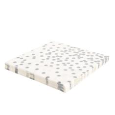 Silver confetti napkins (2 packs x 20)
