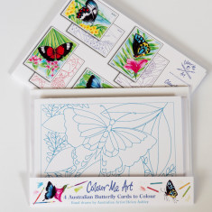 Australian butterflies card making pack