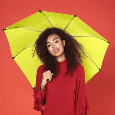 Senz Bright Yellow automatic pocket umbrella