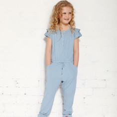 Mr Wolf jumpsuit in chambray