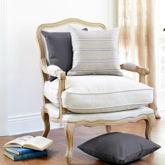 French Louis-style chair with oak frame