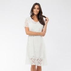 Julianna -Dress White
