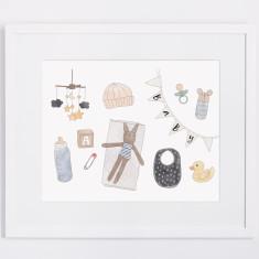 Baby Items print