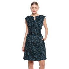 Porto a-line knee length dress