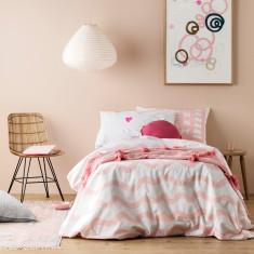 Pink Wiggles Doona Cover