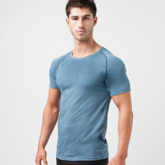 Gradient T-Shirt In Blue