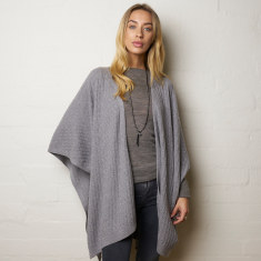 Luxe Merino Wool Cape (Various Colours)