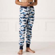 Teen Drop Crutch Camo Pyjama Pants
