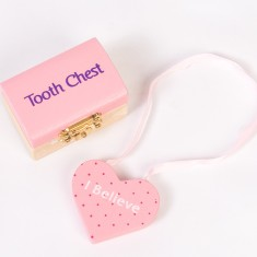 Tooth fairy chest & Matching door hanger set