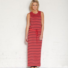 Sorrento maxi in watermelon/indigo