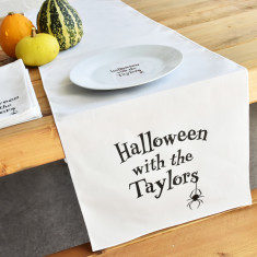 Halloween With The… Personalised Table Runner