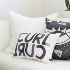 Curl Curl Cushion Cover