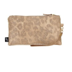 Garcia clutch gold leopardo