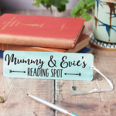 Personalised Parent And Child Bookmark