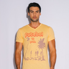 Futebol t-shirt in yellow