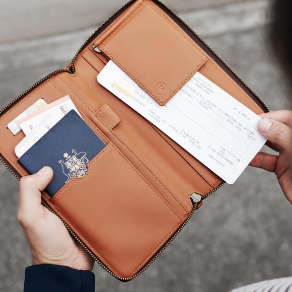 Cas De Passeport En Cuir - Noir Mon Valentine Par Vida Vida H2sdzi5eWU