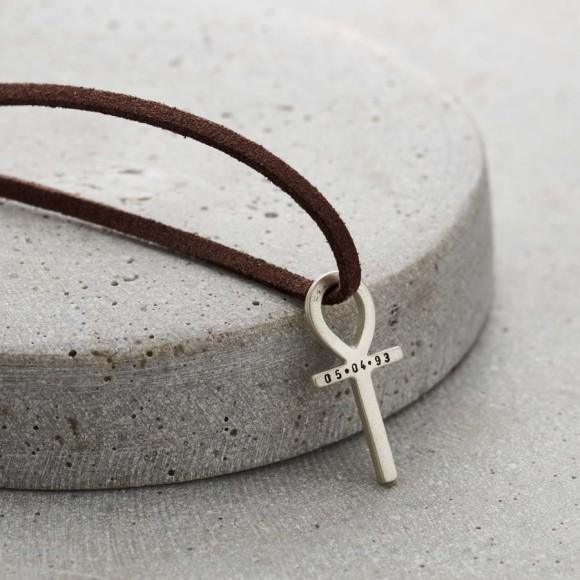 848e6e1b00bcd Mens Leather Necklace - 38 items | hardtofind.