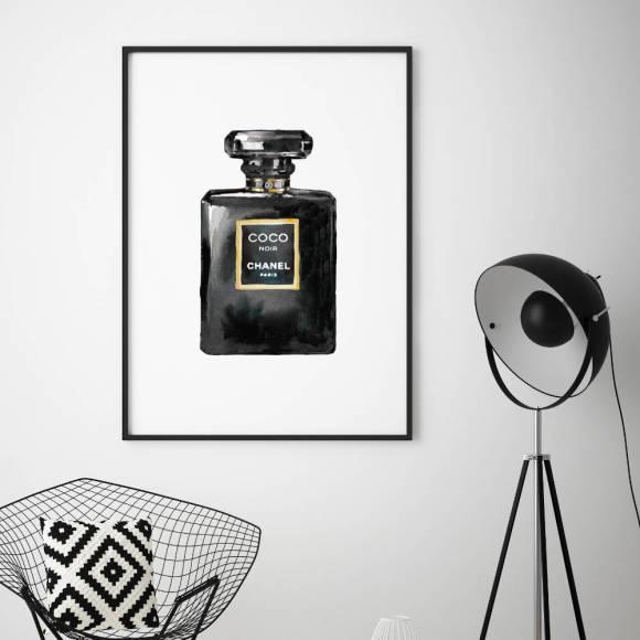 889956874ba9 Chanel Prints Framed