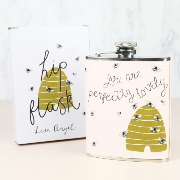 49a33b2dfcd4 Stainless Steel  You Are Perfectly Lovely  Hip Flask. by Lisa Angel