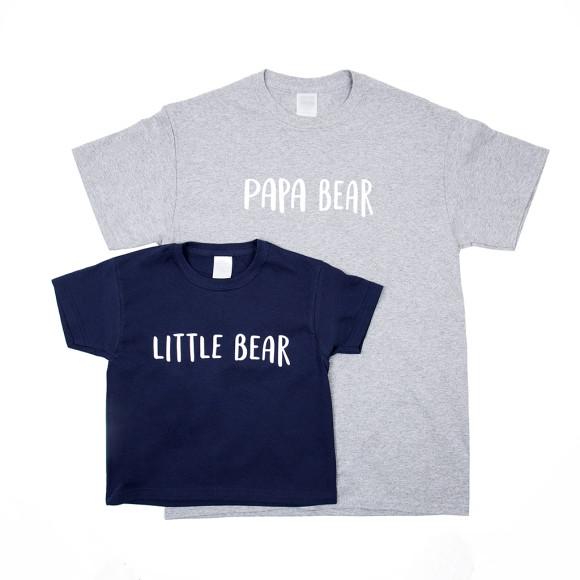 5b8b2fe6bce0 Dad And Me Bear T Shirt Set