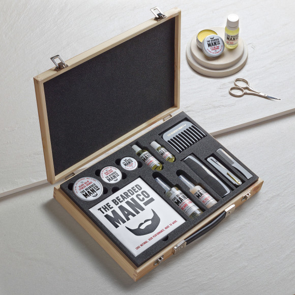 Master Collection Wooden Beard Kit