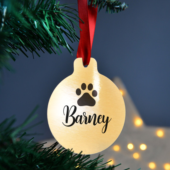 - Personalised Pet Christmas Baubles Hardtofind.