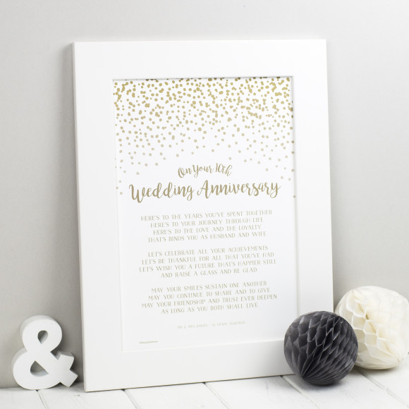 Fourth Wedding Anniversary Gift Ideas | hardtofind.