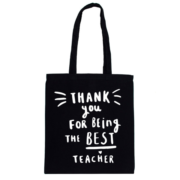 Thanks Teacher Best For The Being Tote Bag dBoCex