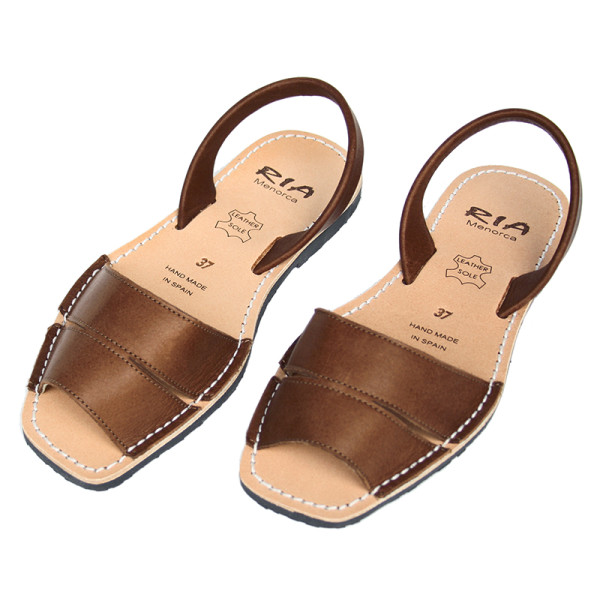Mao Chocolate Leather Brown In Sandals JK1lFc