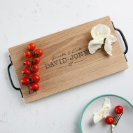 Chopping boards personalised chopping boards wooden and marble personalised images wedding oak or walnut board urtaz Image collections