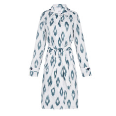 Women's packable raincoat in boho